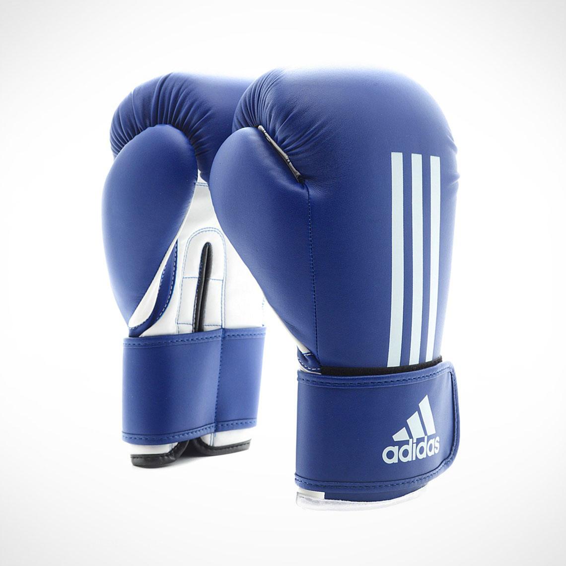 sale retailer 4d9a8 c44da adidas Energy 100 Boxing Goves Blue White ADIEBG100