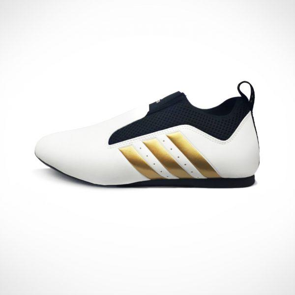 adidas Contestant Pro Taekwondo shoes White Black Gold adiTPR01