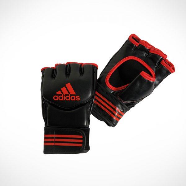 adidas Traditional Grappling gloves Black Red ADICSG07